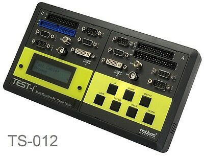 Test-i Multi-Function Pin-to-Pin PC Cable Tester, Tests 18 Different (Multi Function Cable Tester)