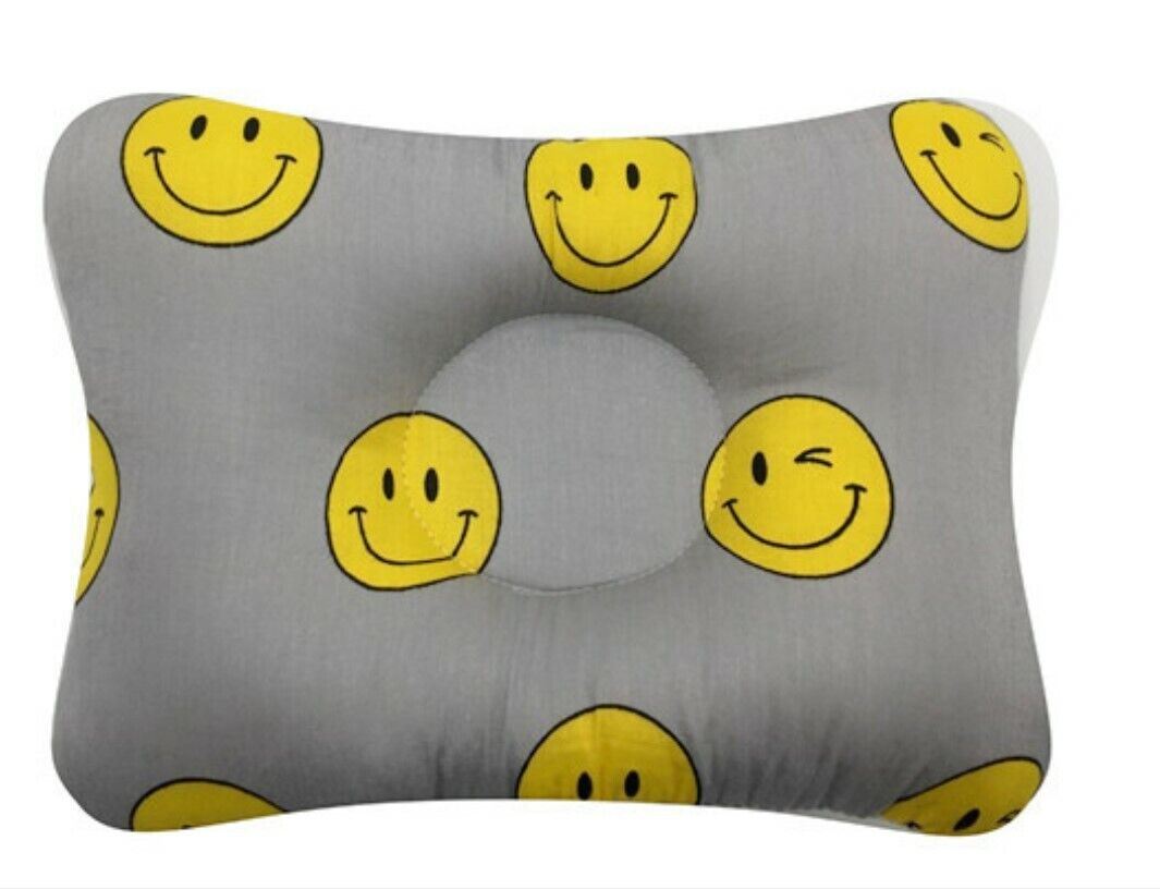 Baby Infant Newborn Pillow Flat Head Sleeping Support Prevent Soft Breathable #9