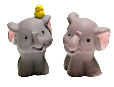 Fisher Price Little People Elephant Pair Noahs Ark 2009 Replacement Parts