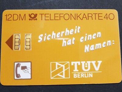 Telefonkarte - TÜV Berlin S01A 12 DM - 30.000 9.88 DPR