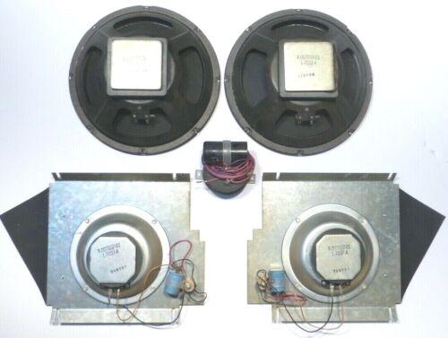 ROWE JUKEBOX R81: ENTIRE SPEAKER SYSTEM w/ 2-REFOAMED 10