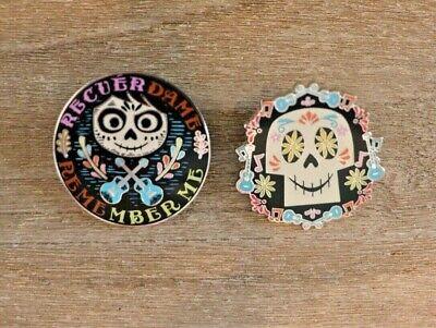 Disney Trading Pin Pixar COCO - REMEMBER ME Character Trading Pin Set of 2