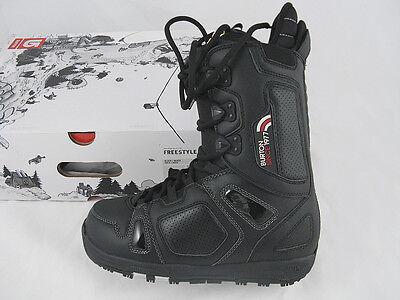 NEW Burton Freestyle Snowboard Boots!  US 7 UK 6 Mondo 25 Euro 40  *Black*
