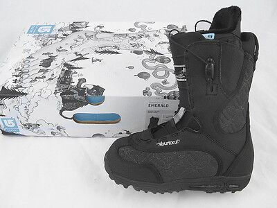 NEW Burton Emerald Snowboard Boots!  US 5 UK 3 Euro 35 Mondo 22  *Black*