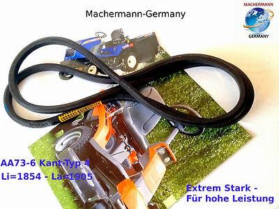 2 Snapper (Nr. 135 Keilriemen AA73 Kant-Typ 4, Snapper 1-8236-S, Snapper 2-2252)