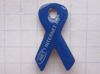 INET / AIDS - SCHLEIFE blau  .....................Computer Pin (127d)