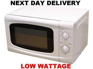 New Leisurewize 700w Low Wattage Caravan Motorhome Camper Microwave Oven White