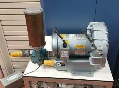 Gast R5325a-2 Regenair Regenerative Blower W Atomuffler 15 W 58d-83-re Remote