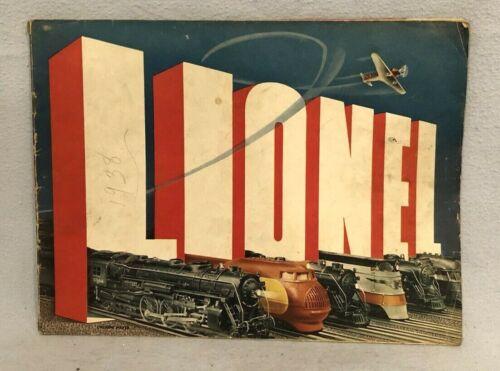 Lionel 1938 Consumer Catalog