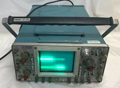 Tektronix 465b 400mhz Oscilloscope 465b Good Condition