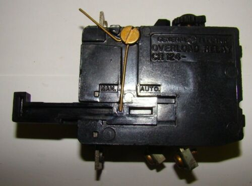 GE CR124C028 Overload Relay, Used