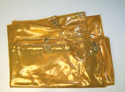 Steiner #33486 Blanket & Curtain Yellow Transparent Vinyl 6'x8'