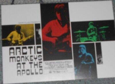 ARCTIC MONKEYS AT THE APOLLO (Promo Postcard - VUE Cinema)
