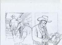 Giovanni Bruzzo Tex Bozzetto 5 Firmato -  - ebay.it