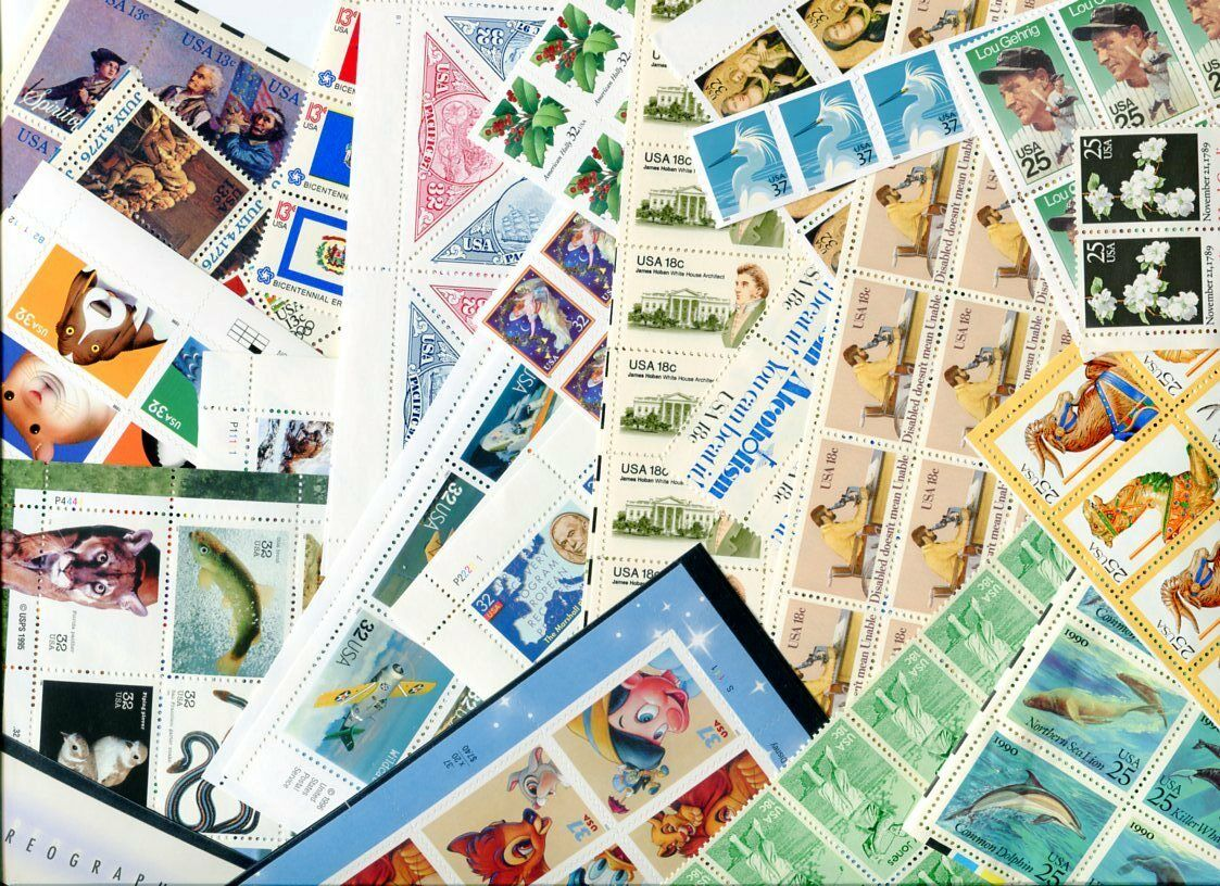 Купить Mint 50 cent 3 stamp-combo rate discount postage x100 = $50 FV at 1/3rd OFF