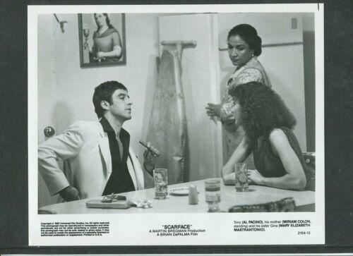 SCARFACE - 1983 original 8x10 movie press photo/still - Pacino, Mastrantonio