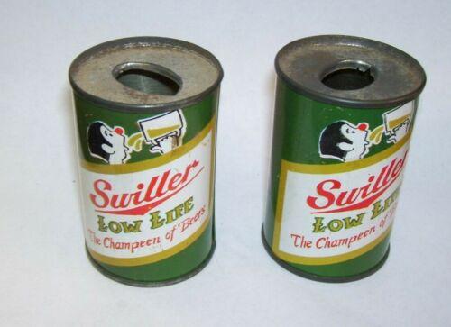 Swiller Low Life Champion of Beers Cigarette Lighter Holder Set of Two