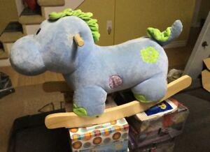 Baby rocking horse dino toy $25