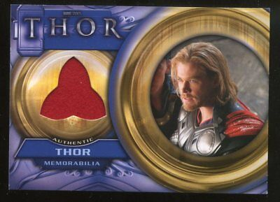 Thor Movie Costumes (UD Thor Movie Memorabilia Costume/Relic Card Marvel F1 -)