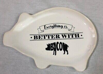 Ceramic Pig Serving Dish -