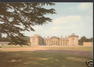 Bedfordshire-Postcard-The-East-Front-Woburn-Abbey-WC131
