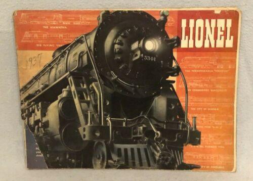 Lionel 1937 Consumer Catalog