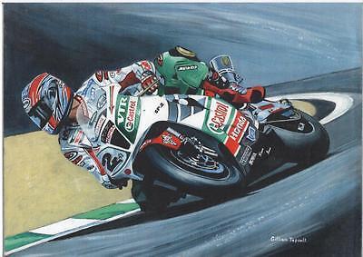 Colin Edwards WSBK 2002 art print