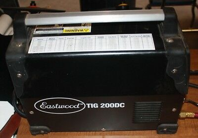 Eastwood Tig 200dc Welder Free Shipping