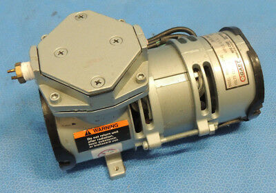 Gast Moa-v112-ae Compressor Vacuum Diaphragm Pump 116 Hp 60 Hz 115v