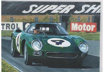 David Piper Ferrari 250LM art print