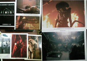 VERY-Rare-Set-of-8-Ltd-Alien-3-Prints-Predator-Neca-Hot-Toys-Prometheus