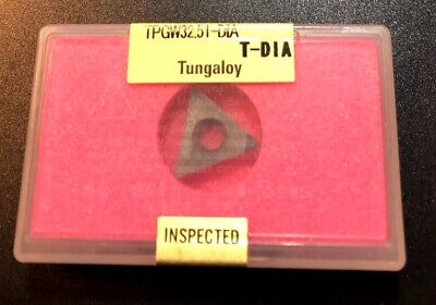 Tungaloy Pcd Diamond Insert - Tpgw16t304 32.51 Dx140