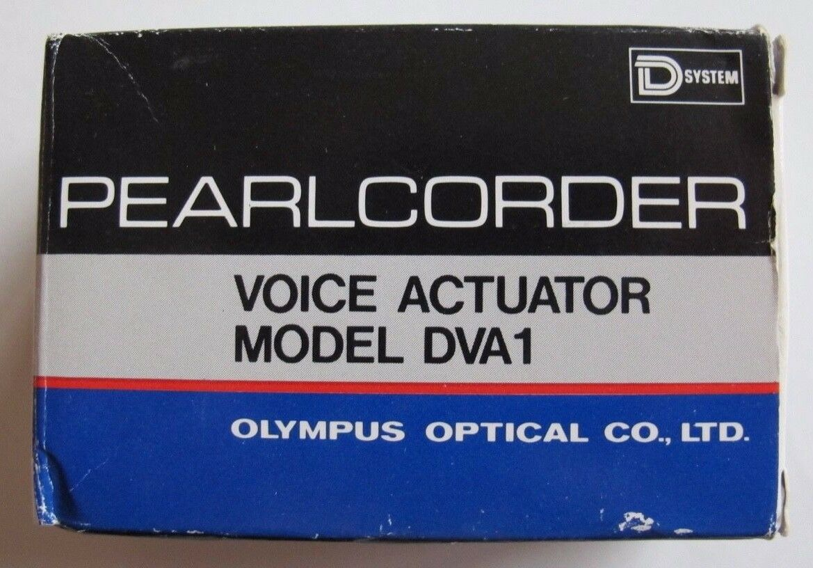 NEW Olympus Pearlcorder Voice Actuator Model DVA1 DVA-1 Cassette Tape Recorder