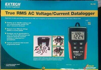 Extech Dl150 True Rms Ac Voltage Current Datalogger