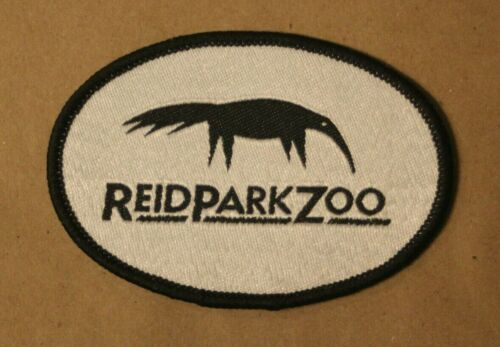 Reid Park Zoo Black & White Anteater Patch Badge Tucson Arizona Souvenir