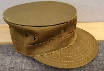 1950s Hats: Pillbox, Fascinator, Wedding, Sun Hats KOREA Vtg 1950s Spring Up Jump Up Louisville Army Patrol Cap Vintage Hat Size 7  $49.99 AT vintagedancer.com