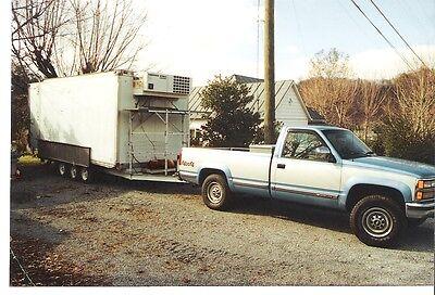 Hobart Meat Equpiment Butcher Beef Processing Cooler Unit Mobile