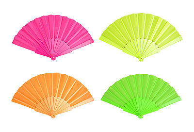 Japanese Fans (Plastic Chinese Japanese Dancing Hand Folding Portable Fan Wedding Party)