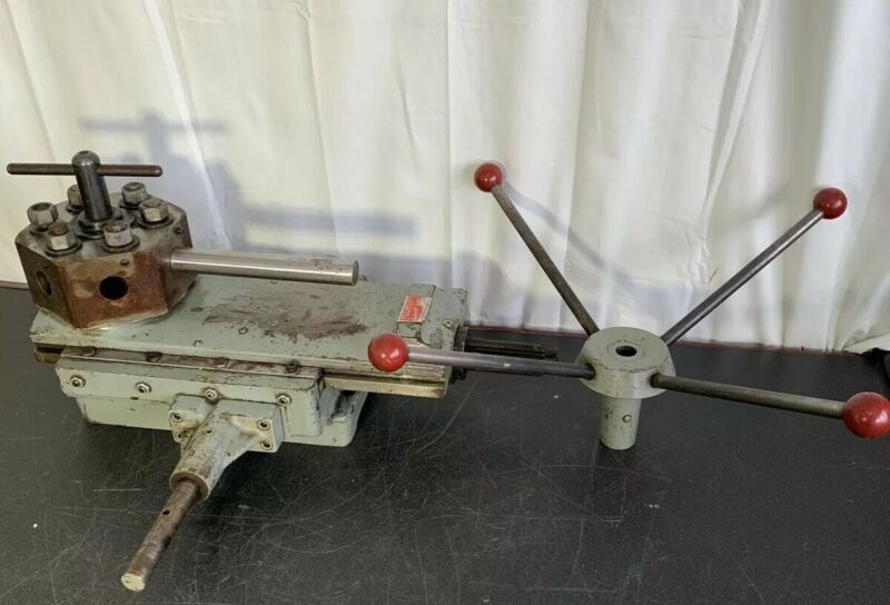Enco Southbend Lathe 6 position Hex Bed Turret Quick Multi Operations # 8066