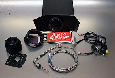 "AutoGauge 2"" 52mm Universal Exhaust Gas Temp/Temperature EGT LED Gauge + Sensor"