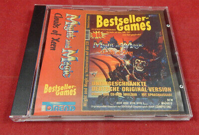 Might and Magic 4 Clouds of Xeen CD aus Bestseller