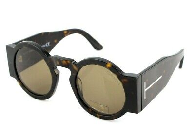 NEW Genuine TOM FORD TATIANA-02 Dark Havana Brown Sunglasses TF 603 FT 0603 52J