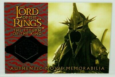 Lord of The Rings Return King The Witch-King's Cloak Memorabilia Costume Card](Cloak Lord Of The Rings)