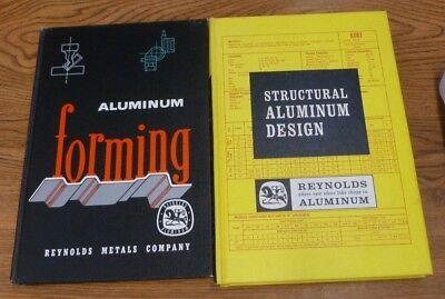 Vintage 1966 STRUCTURAL ALUMINUM DESIGN MANUAL & ALUMINUM FORMING BOOK Reynolds (Aluminum Design Manual)