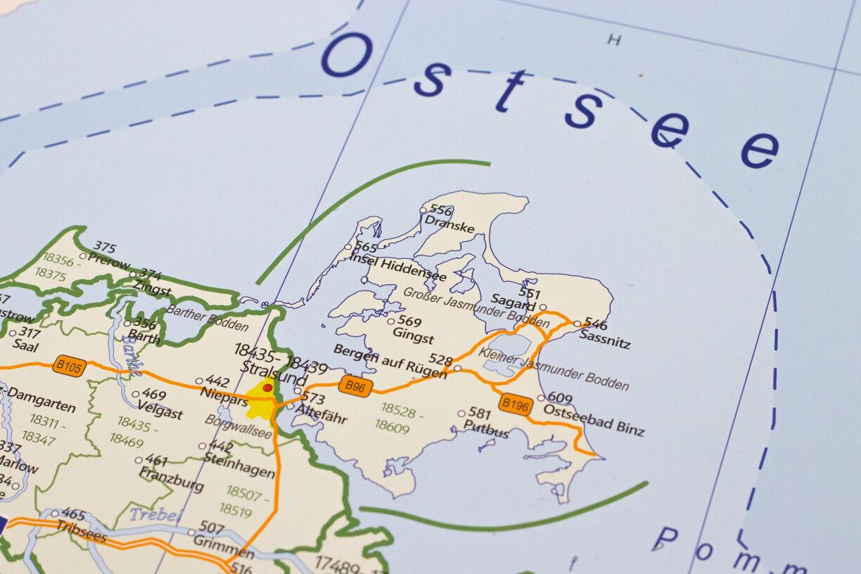 Bundesland Karte Mit Plz.Details Zu Postleitzahlen Karte Poster Plz Deutschland Mit Bundeslandern Laminiert A0 2018