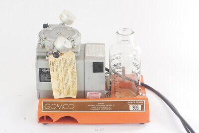 Gomco 309 Entdental Medical Tabletop Vacuum Pressure Aspiratorsuction Pump
