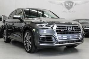 2018 Audi SQ5 FY Wagon 3.0T MY18 in Grey Parramatta Parramatta Area Preview