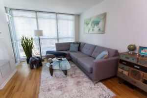 18 Yonge downtown condo 1+1, 2 full bathroom, Incl. Storage