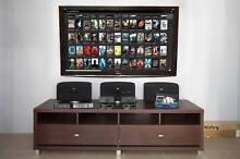 Panasonic 65 inch Full HD 3D + Glasses + Wall mount + Speakers + Peakhurst Hurstville Area Preview