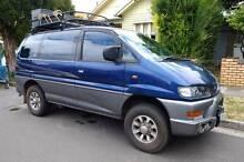 4x4 Mitsubishi Delica Van/Minivan+extras Brunswick Moreland Area Preview